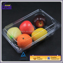 plastic fresh fruit punnet tray for strawberries, grapes or cherry tomatoes
