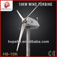 10kw wind turbine green power generator alternator