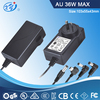 Laptop AC DC 12V 24V 36V 2A 4A 5A 3A 6A Switching Power Adapter with Safety Standard