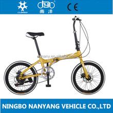 High Quality 20 Inch Aluminum Alloy Pocket Bike For Child