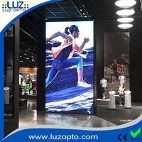 High Quality Used Outdoor Box Signs Double Sided Aluminum Frame With Stand Waterproof Outdoor Light Box