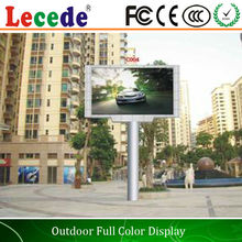 10MM Pixel pitch and Full Color irregural outdoor P10 led display