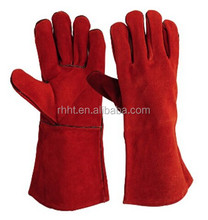 Cowhide leather Kevlar Welding Gloves price for welder use