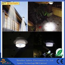 Hot Selling Outdoor Garden Yard 3 LED Solar Gutter Lights Mini Solar Lights For Crafts