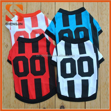 SJ-6457 Best selling Colorful figure print cotton pet Tshirts summer Dog jersey