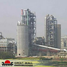 gypsum 6000ton per day clinker new type dry process cement plant in ukraine