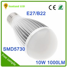 China supplier CE ROHS AC120V cool white SMD5730 meanwell led driver 10w