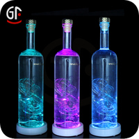 Wholesale Alibaba Water Bottle With Led Light Fashion Pvc Cup Coaster