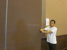 China aluminium movable sliding interior door sound proof folding partition wall