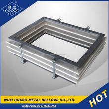 Rectangular yang bo pipe compensator for displacement compensation