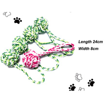 2015 china best selling wholesale cotton ball toy for dog