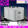 2v 2000ah msds sealed lead acid used telecom batteries