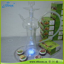 LED light hookahs glass from top quality and factory prices