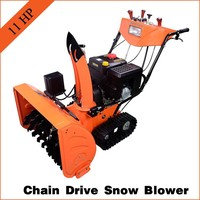 Top quality snow thrower for 11HP with Loncin engine