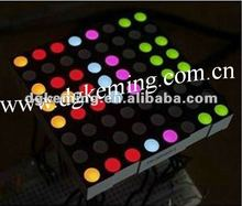 5mm 8x8 RGB led matrix 7.62mm pitch