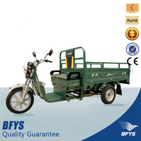 strong power 1200W electric cargo 3 wheeled motorcycle for sale
