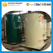 LSS- series industrial gas boiler & oil and gas fired working simple vertical boiler 1 ton gas fired steam boiler