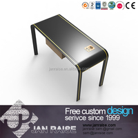 Home & office used office table metal structure wooden table computer table