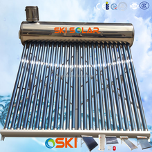 popular in south africa solar water heater with assistant tank