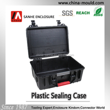 plastic equipment tool case with handle for equipment