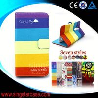 new product wallet card slots stand cover flip leather case for Micromax A1