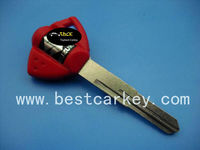 key blank Suzuki for motorcycle in Red