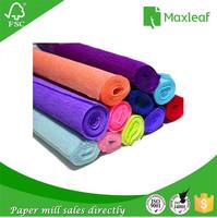 50*250cm DIY handmade color crepe paper