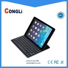 Hot sale ultra-thin Bluetooth keyboard for iPad air, Magnetic adsorption design,perfectly fits for iPad air