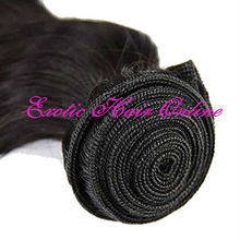 Exotichair queen hair product 4pcs natural color unprocessed jerry curl