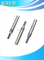 solid carbide flat head milling cutters