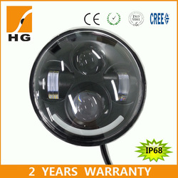 5.75inch led high low beam headlight 5 3/4 led headlight for motorcycle