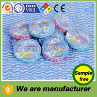 factory sale oem welcomed compressed dia.4.5cm round colorful 100%viscose nonwoven magic towels of onetime wipes/napkins/tissue