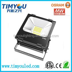 High lumen ip65 die cast aluminum led flood light housing SMD 1000 watt led flood light CE/RoHS/ETL/DLC 100w/150w/200w