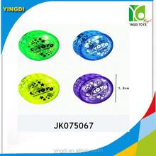 Customized Plastic Yoyo Ball Toy Yo Yo For Kids Promotion transparent with light