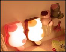 4pcs cat room led lamp,cute cat family Night Lamp,optic lovely cat family Wall Night Lamp for children