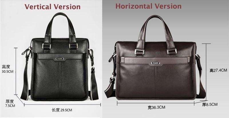 ซื้อ จัดส่งฟรีP. uoneคนในเชิงพาณิชย์ชายกระเป๋าถือกระเป๋าสะพายหนังแท้ผู้ชายกระเป๋าเอกสารหนัง