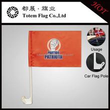 Promotional Plastic Pole Car Flag