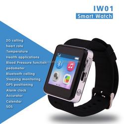 "High Quality 1.54"" GPS+BT+SIM+SOS all in one Smart Watch"
