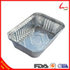 Oblong Disposable Aluminium Containers For Food Serving