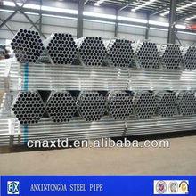 Q345b tubo de acero andamios tubería de acero galvanizado Snapple