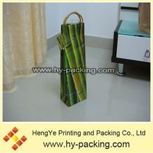 Por encargo diferentes diseño de la bolsa de vino caliente de ventas/bolsa de vino de buena calidad