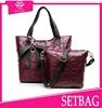 2015 China golden supplier wholesale OEM factory price luxury designer handbags women fashion handle bags tote