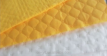 Selling 100% Polyester Embroidery Quilting Ultrasonic Quilted Fabric for Jacket Coat High Quality