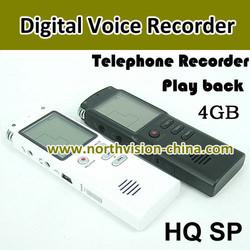 Good voice quality digital screen tiny mini digital voice recorder