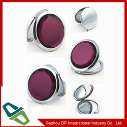Various Metal Pocket Mirror in different shapes