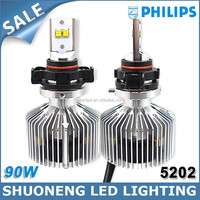 Leading Manufacturer 45W 4500lm New Generation H16 5202 LED Bus Head Light Philips