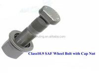 Class10.9 SAF Wheel Bolt with Cap Nut