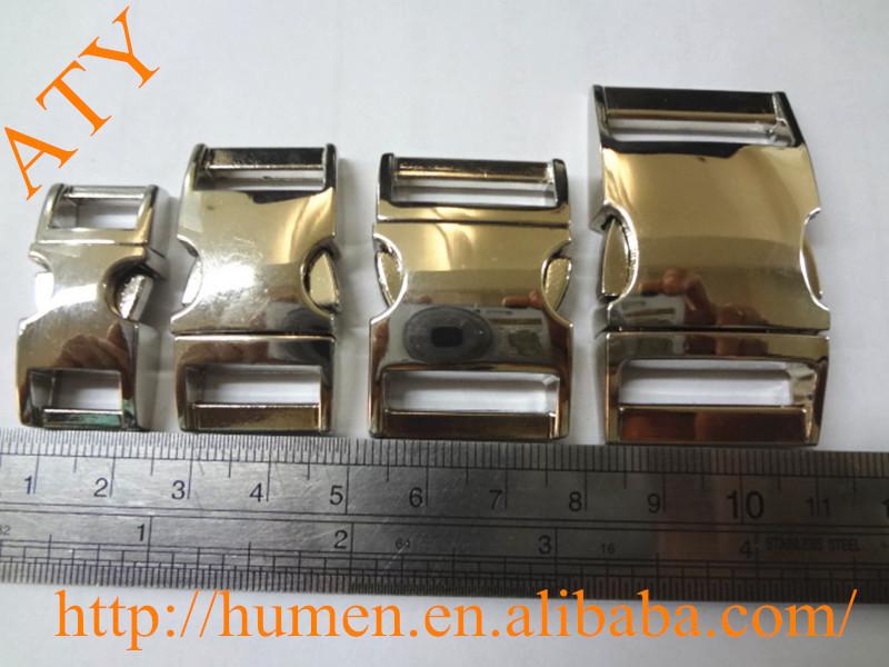 premotional metal quick release buckle for pet collars