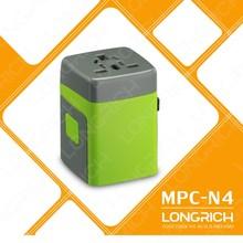 2014 longrich superior vender universal multi- función de toma de( mpc- n4)