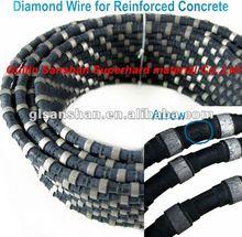 10.5mm Hydraulic Wall Concrete cutting Diamond Wire Saw